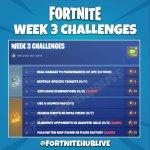 fortnite desafíos tercera semana