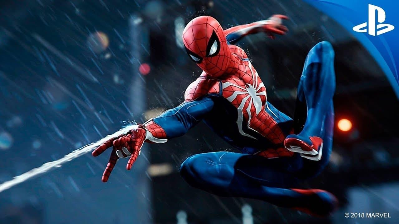 Tráiler para ps4 Spider-Man