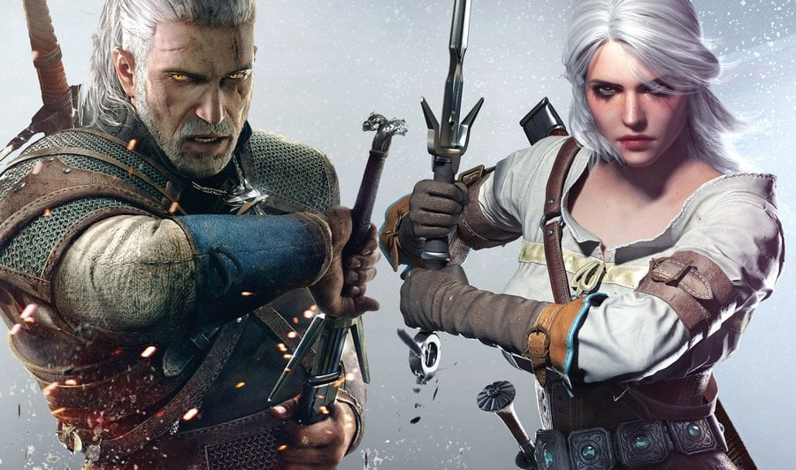 Geralt de Rivia Ciri Netflix The Witcher 3