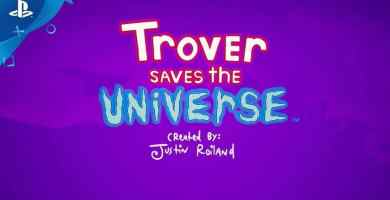 Trover Saves the Universe Gameplay