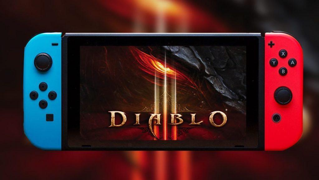 Diablo III Nintendo Switch Blizzard 2 de Noviembre