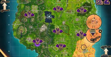 Where they are corrupt zones fortnite