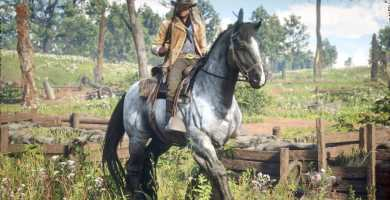 Red Dead Redemption 2 horse of war
