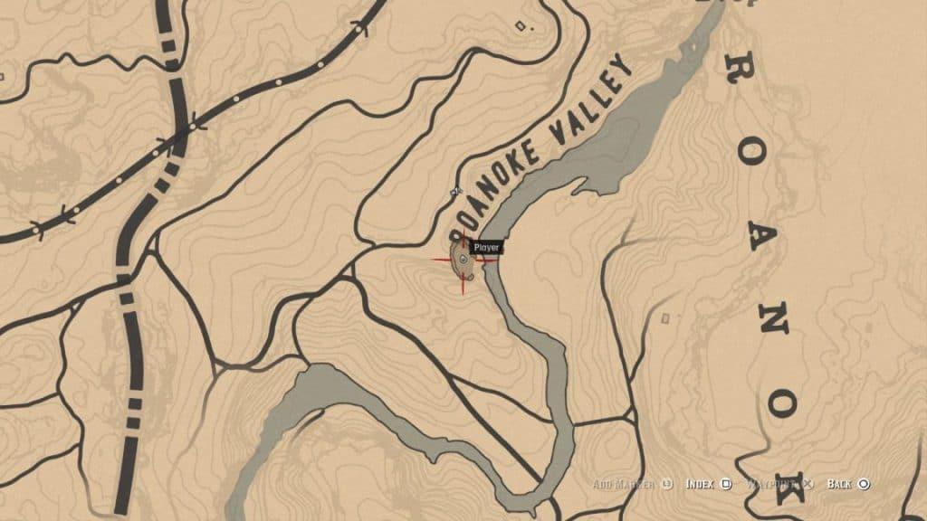 ubicación hombre lobo Red Dead Redemption 2