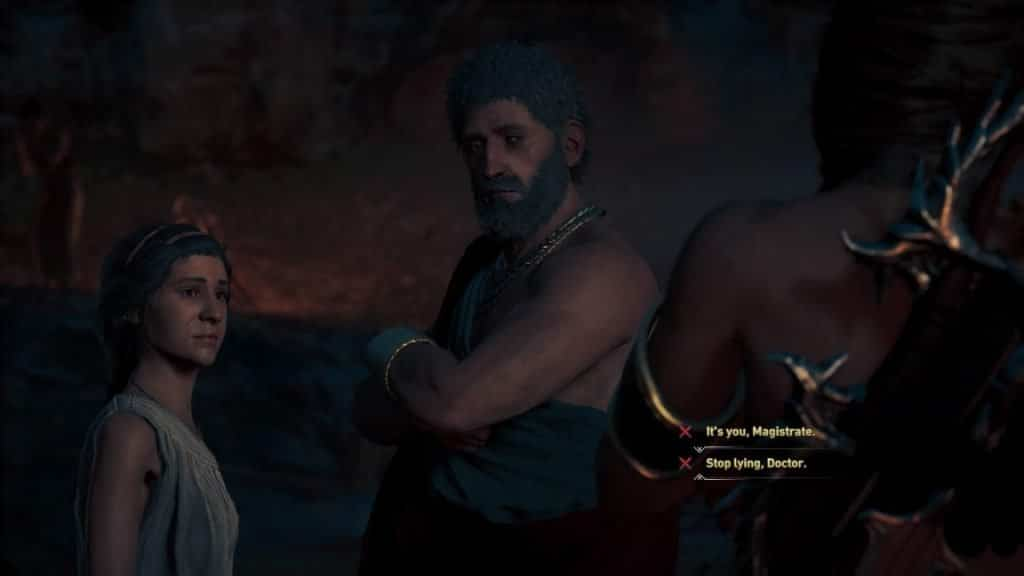 Assassin's Creed Odyssey Guía Malady Quest Misteriosa