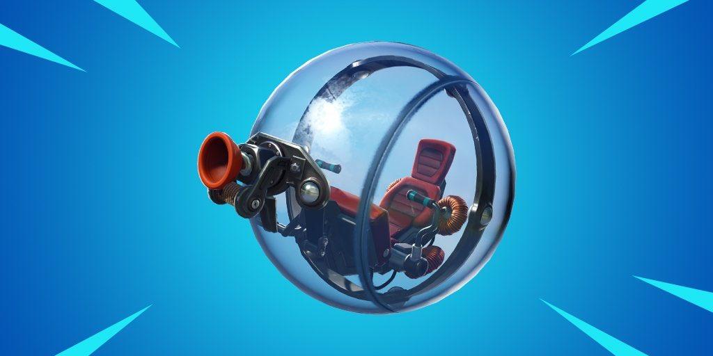 Fortnite El próximo nuevo vehículo es una bola de hámster