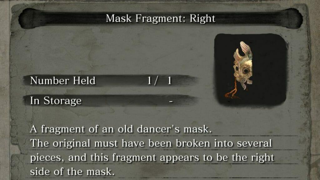 Sekiro Donde encontrar los fragmentos de la Máscara Dragón Danzante