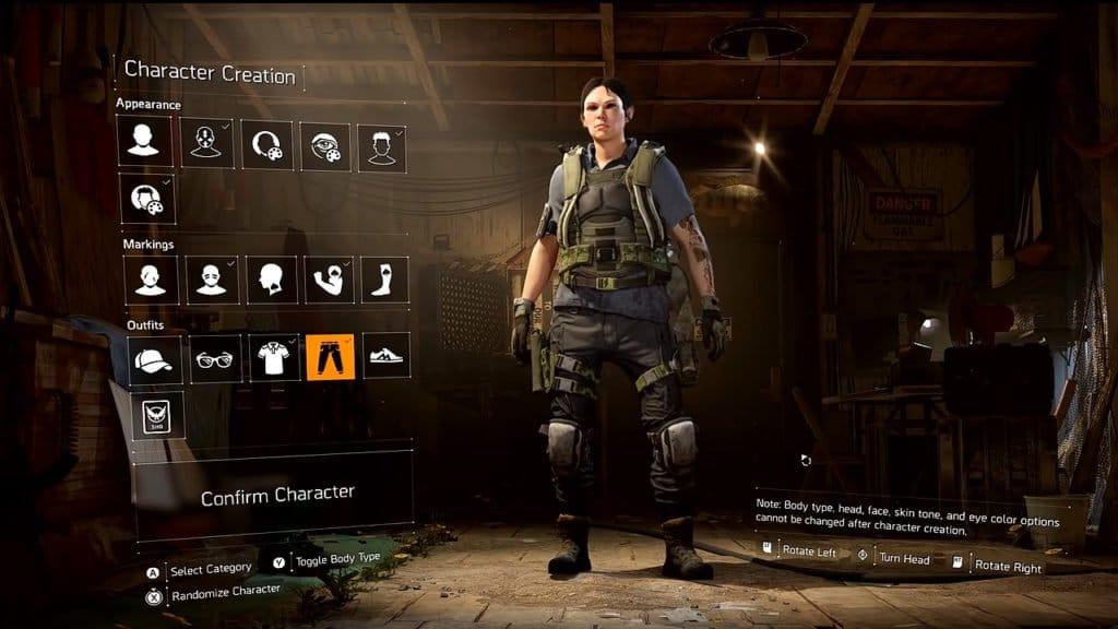 The Division 2 ya está en vivo mira el creador del personaje