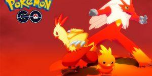 Pokemon Go Día de la Comunidad de Mayo - Torchic, Combusken y Blaziken Shiny