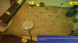 Mapa del Tesoro en Fortnite: Dónde apunta el cuchillo en la pantalla de carga
