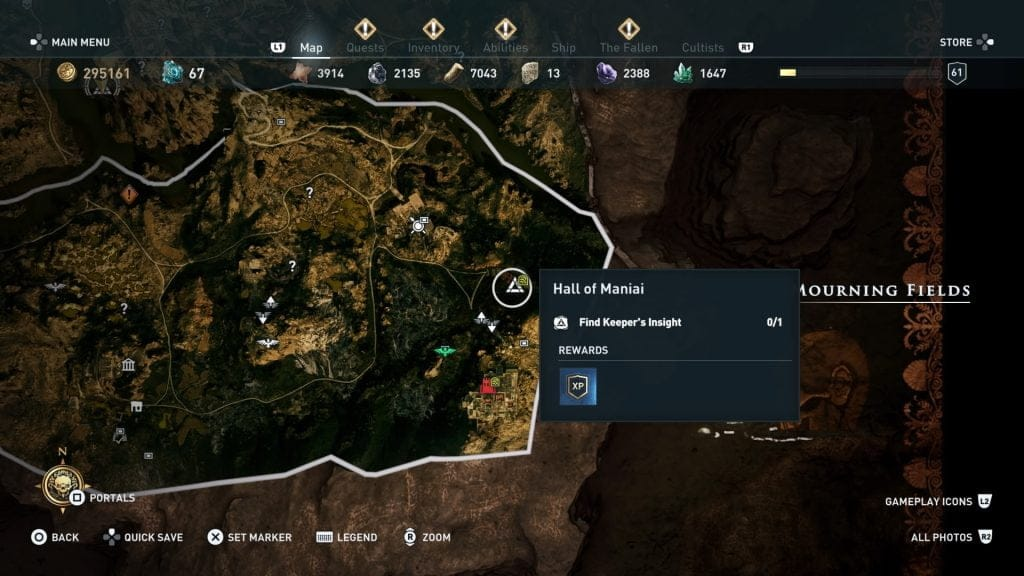 Dónde encontrar a Aquiles assassins creed odyssey