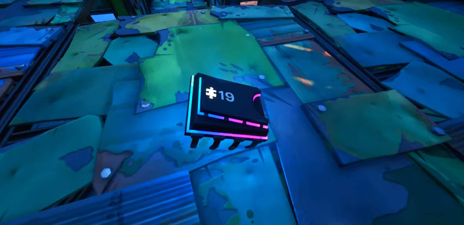 Fortnite Dónde encontrar el Fortbyte 19
