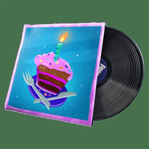 Disco de Musica de Cumpleaños