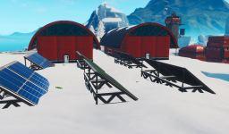 Fortnite: Visita un Panel Solar en la Nieve, el Desierto y la Jungla - Desafíos Semana 9