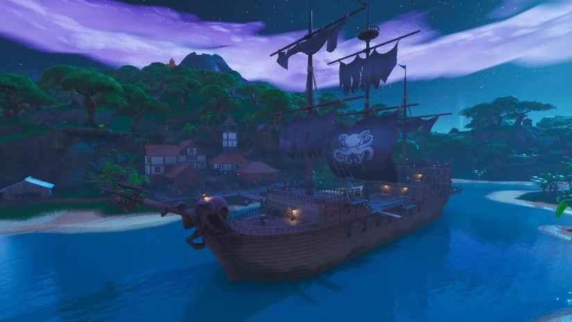 Ubicación Barco Pirata Fortnite