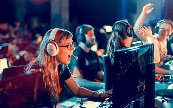 Incremento de la presencia femenina en los eSports