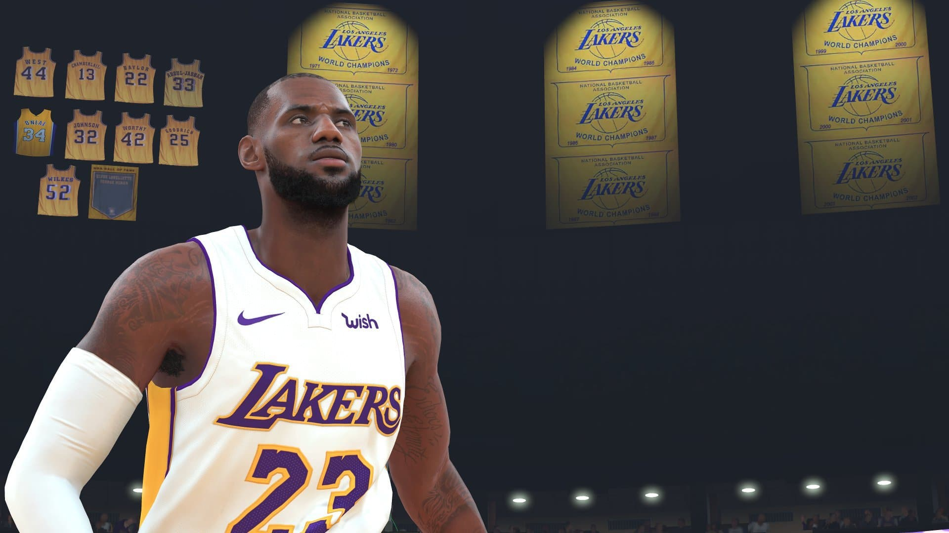 Lebron James en NBA 2k20