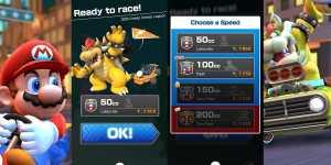 Mario Kart Tour Cómo cambiar de CC - Diferentes Cilindradas y Nivel de Dificultad