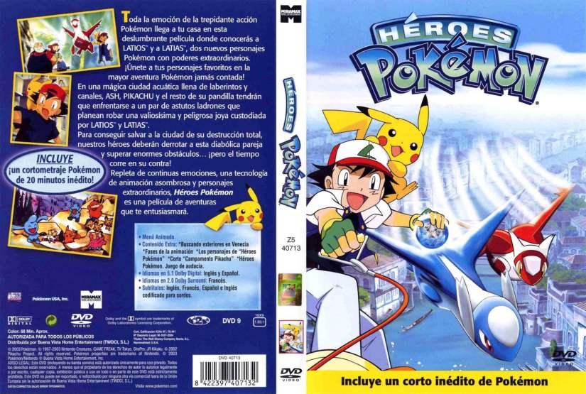 pokemon pelicula 5 castellano