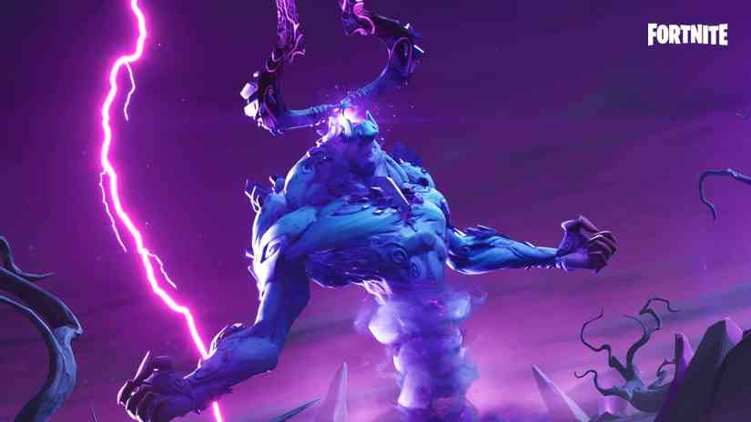 Derrota al Rey de la Tormenta - Fortnite Capítulo 2