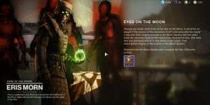 Destiny 2 Conseguir todos los Ojos en la Luna