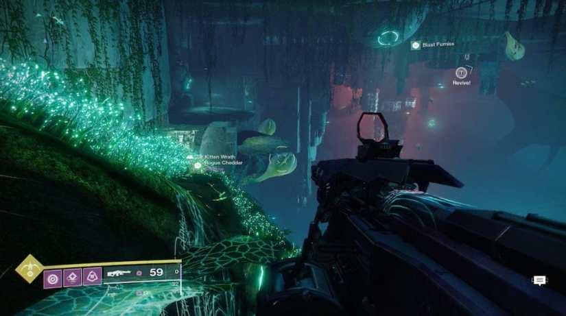 Destiny 2 Dónde buscar cofres ocultos en Jardín de la Salvación 2