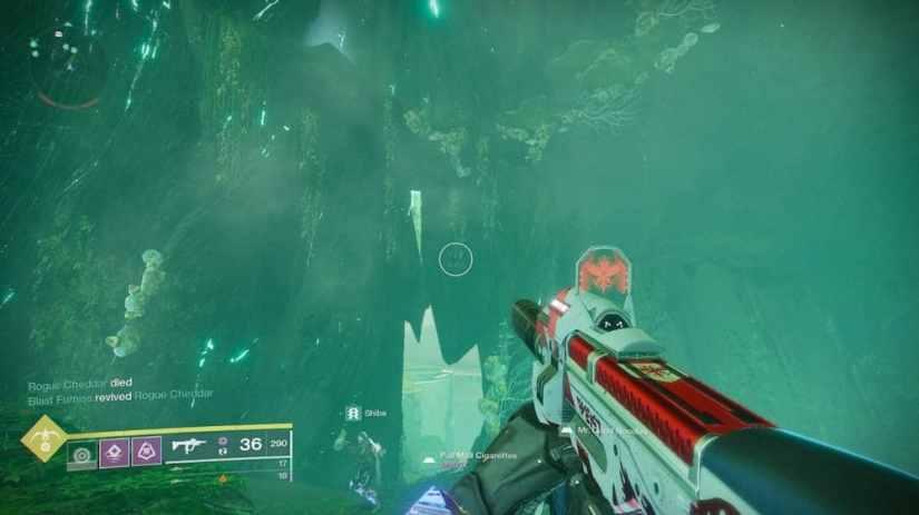 Destiny 2 Dónde buscar cofres ocultos en Jardín de la Salvación 5