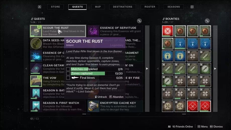 Destiny 2: Limpiar la herrumbre - Misión de estandarte de hierro