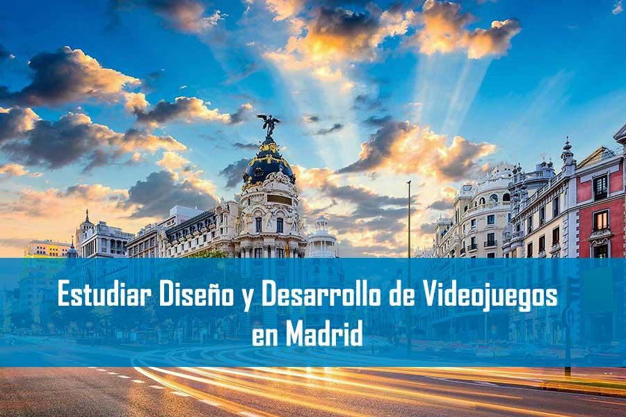 Estudiar Diseño y Desarrollo de Videojuegos en Madrid