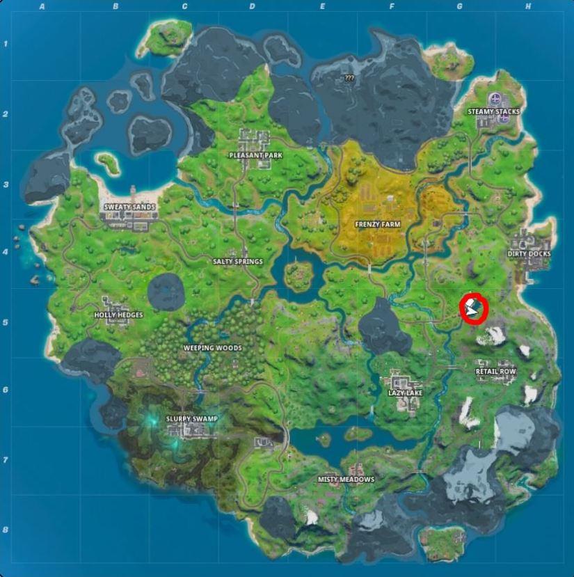Fortnite: Dónde encontrar una caña de pescar y qué puedes pescar 3