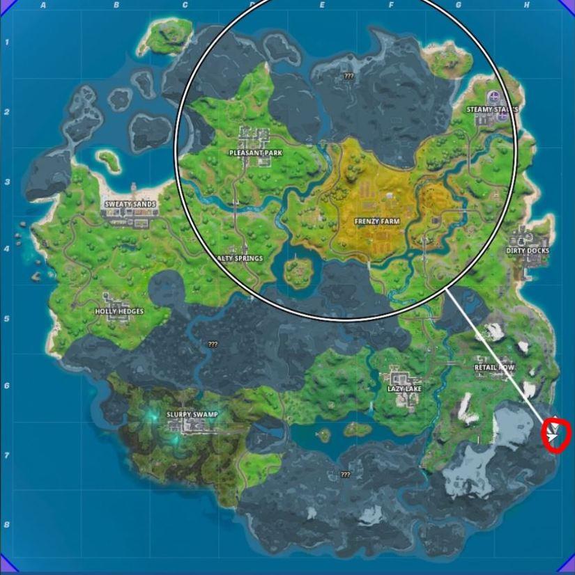 Fortnite: Dónde encontrar una caña de pescar y qué puedes pescar 4
