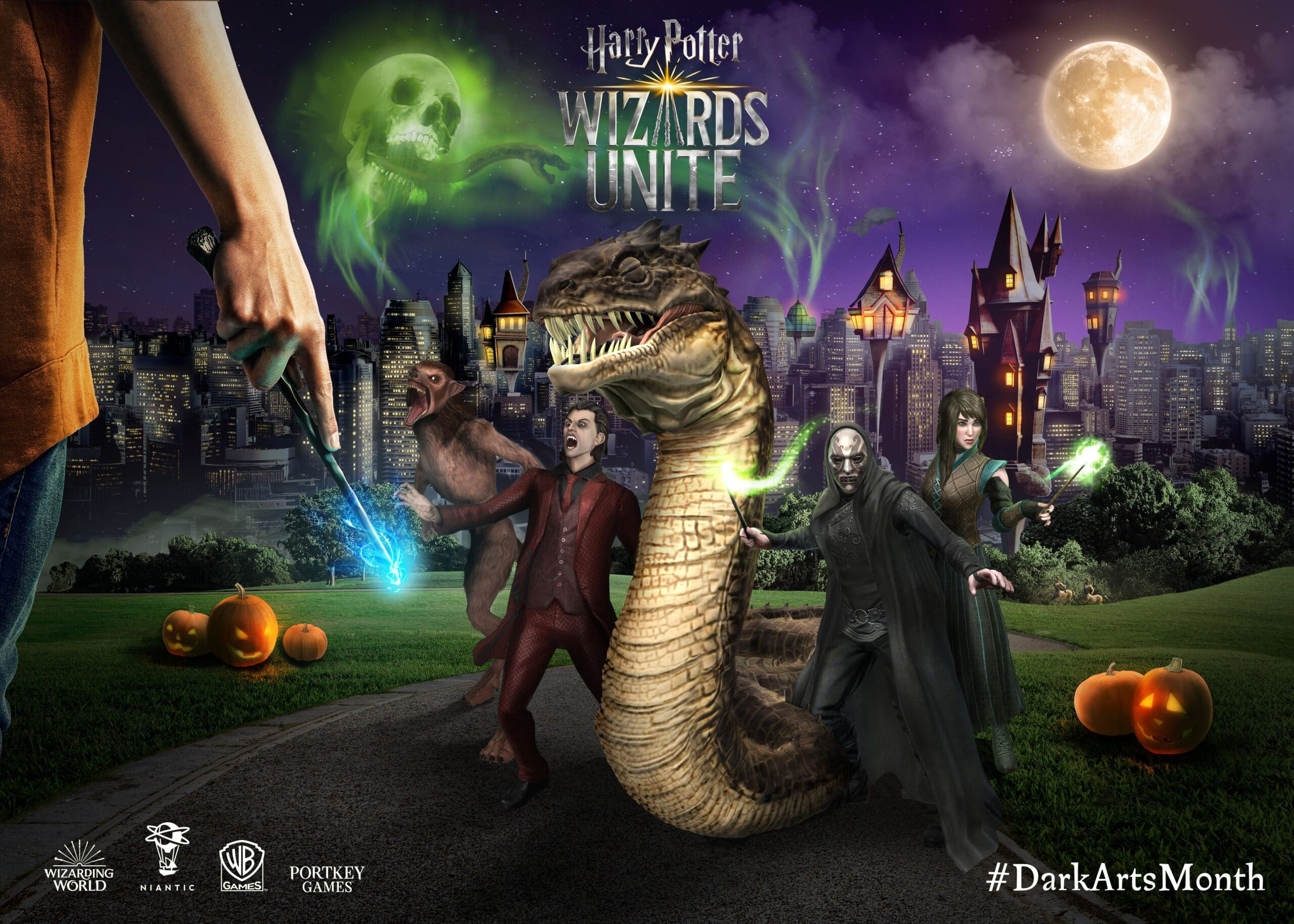 Harry Potter Wizards Unite - Detalles de Harrowing Evento de Halloween
