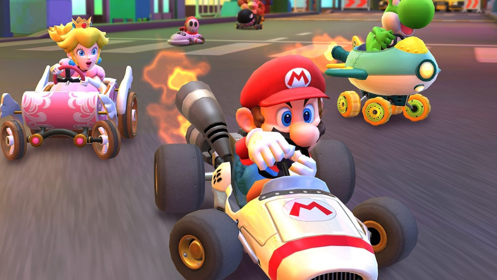Mario Kart Tour Eliminar 5 cabras - Desafíos Temporada 1