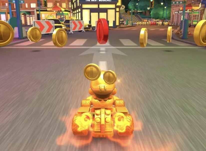 Mario Kart Tour Fiebre del Oro