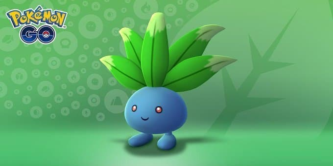 Pokemon Go agrega a Oddish brillante