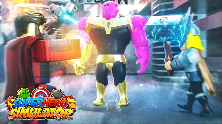 Codigos SuperHero Simulator