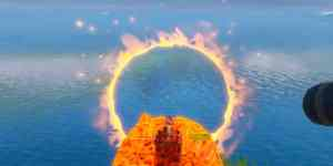 Fortnite Capítulo 2 Círculos llameantes - Ubicación Aros de Fuego