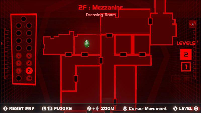 Gema verde del vestidor - Segunda planta