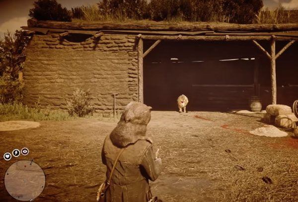 Red Dead Redemption 2 ubicacion del leon