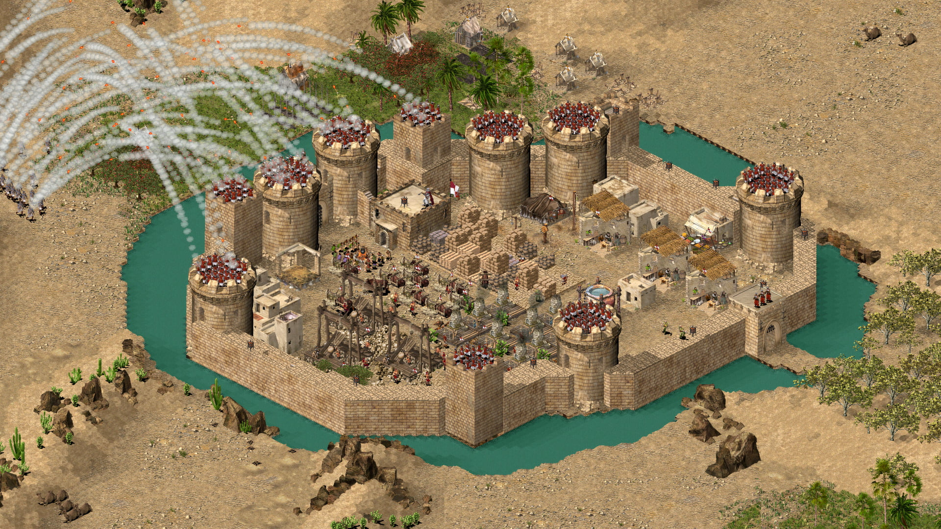 Stronghold Crusader Cheats and Codes for PC