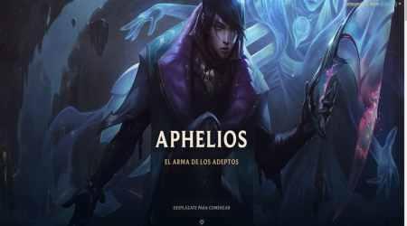 Aphelios, el nuevo campeón de League of Legends
