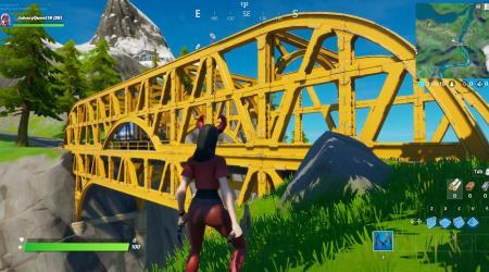 Fortnite: Baila en un Puente Verde, Puente Amarillo y Puente Rojo – Ubicación