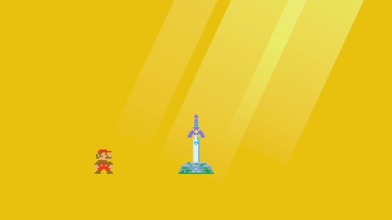 Cómo usar la Espada Maestra en Super Mario Maker 2