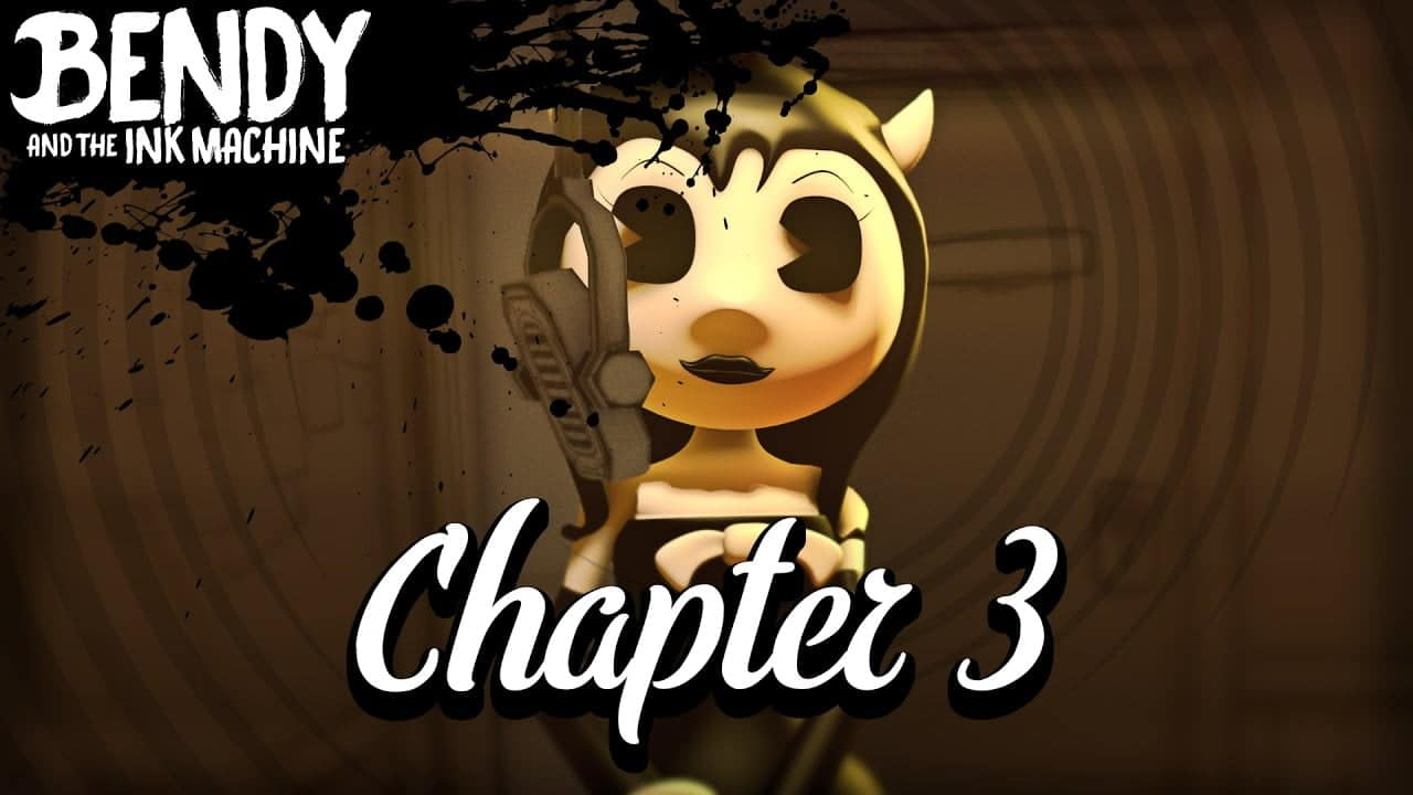 Bendy and The Ink Machine: Chapter 3 full walkthrough