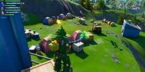 Fortnite - Campamentos base de montaña