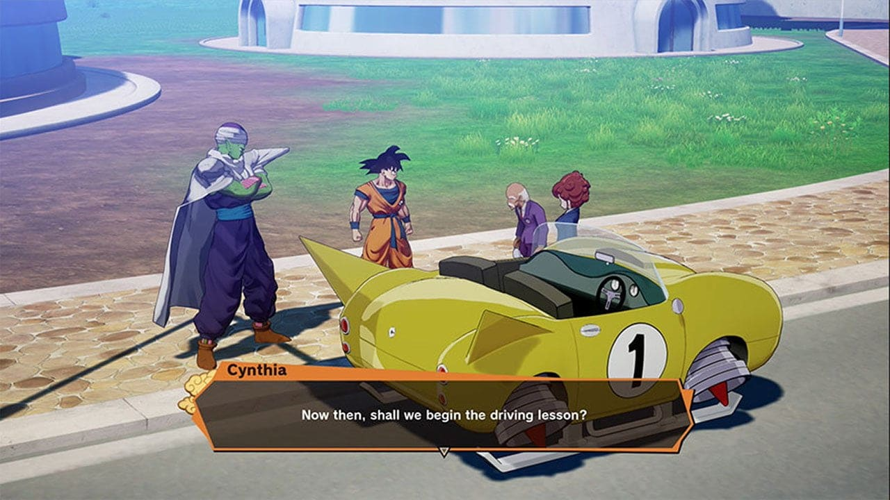 How to get a flying car in Dragon Ball Z Kakarot?