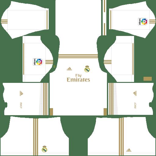 kit Real Madrid home – Kits de Dream League Soccer