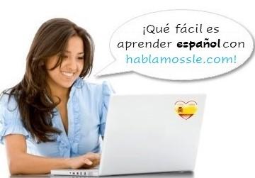 Cómo aprender español con HABLAMOSSLE