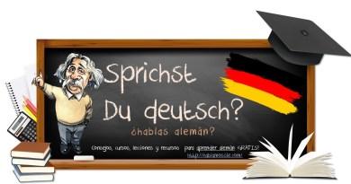 Aprende alemán online GRATIS