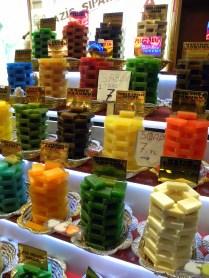 Soaps at the bazaar